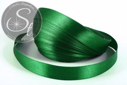 5m green satin ribbon 16mm-31