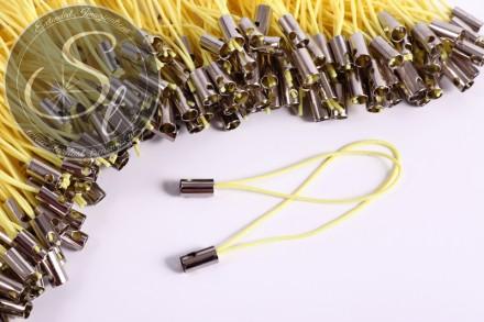 15 pcs. yellow cellphone straps ~5cm-31