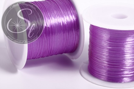 12m lilac elastic nylon thread 0.8mm-31