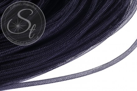 4 meters black net thread cord 4mm-31