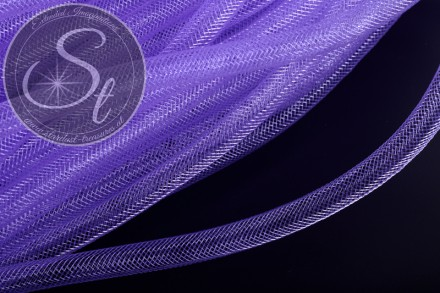 3 meters blue lilac net thread cord 8mm-31