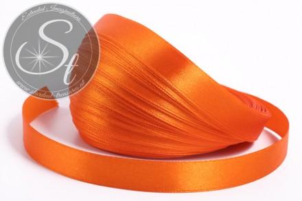 5m orange satin ribbon 12mm-31