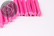 3 pcs. pink flower clay canes-20