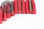 3 pcs. strawberry clay canes-20