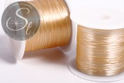 12m light-orange elastic nylon thread 0.8mm-20