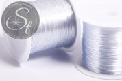 12m gray elastic nylon thread 0.8mm-20