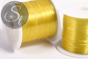 12m yellow elastic nylon thread 0.8mm-20