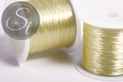 12m light-yellow elastic nylon thread 0.8mm-20