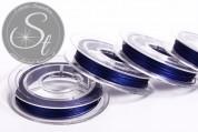 10m dark-blue jewelry wire 0.38mm-20