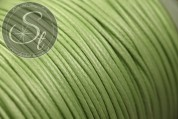 5 meters lightgreen waxed cord ~1mm-20