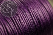 5 meters lilac waxed cord ~1mm-20