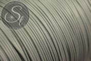 5 meters gray waxed cord ~1mm-20