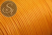 5 meters orange waxed cord ~1mm-20