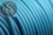 0.5 meters turquoise synthetic-rubber cord 3mm-20