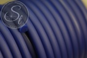 0.5 meters dark-smokeblue synthetic-rubber cord 5mm-20