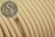 0.5 meters beige synthetic-rubber cord 3mm-20