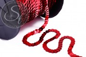 2m red sequin ribbon ~5mm-20