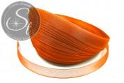 5m orange organza ribbon 12mm-20