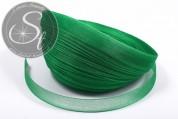 5m green organza ribbon 12mm-20