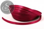 5m dark-red satin ribbon 6mm-20