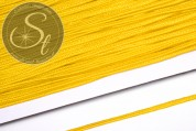 1m corn yellow soutache braid rough-style 3mm-20