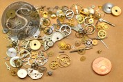 12g real vintage watch parts.-20