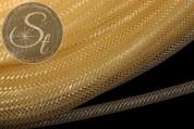 0.5 meters yellow net thread cord 4mm-20
