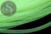 0.5 meters neon-green net thread cord 4mm-20