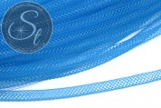 0.5 meters turquoise blue net thread cord 4mm-20