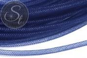 0.5 meters dark smoke-blue net thread cord 4mm-20