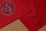 "1 pc. Paper-Sheet ""Crimson"" ~10.5cm x 7cm-20"