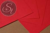 "1 pc. Paper-Sheet ""Red"" ~10.5cm x 7cm-20"