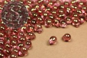 "20 pcs. medium-sized Czech multicolor ""Drop"" glass beads 7mm-20"