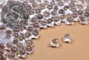 """20 pcs. medium-sized light-blue Czech """"Drop"""" glass beads 7mm-20"""