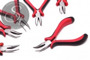 1 pc. curved flat nose pliers 13cm-20