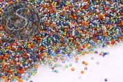 20g glass seed beads mix ~2mm-20