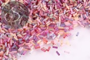 20g cylindrical glass seed beads mix ~5mm-20