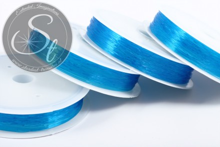 15m blauer elastischer Nylonfaden 0,6mm-31