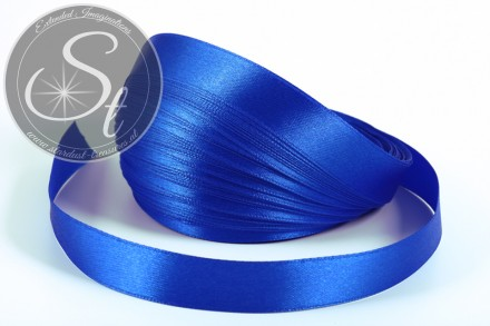 5m blaues Satinband 16mm-31