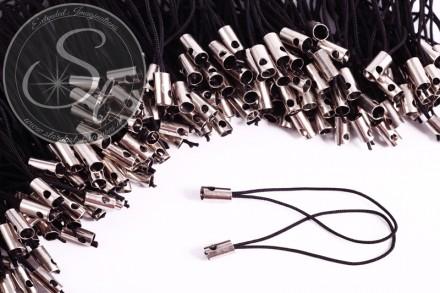 15 Stk. schwarze Handybänder ~ 5cm-31