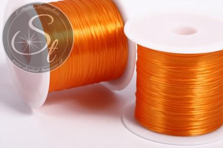 12m oranger elastischer Nylonfaden 0,8mm-31