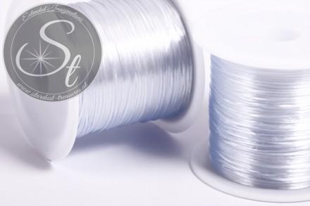 12m grauer elastischer Nylonfaden 0,8mm-31