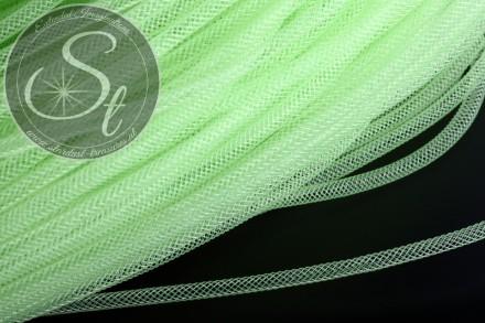 4 Meter hellgrüner Netzschlauch 4mm-31