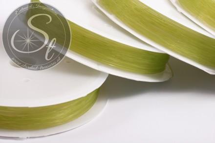 15m grüner elastischer Nylonfaden 0,6mm-31