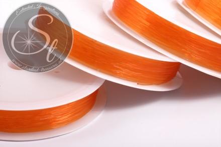 15m oranger elastischer Nylonfaden 0,6mm-31