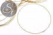 1 Stk. goldenes Edelstahl-Collier ~43cm-20