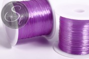 12m lila elastischer Nylonfaden 0,8mm-20