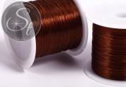 12m brauner elastischer Nylonfaden 0,8mm-20