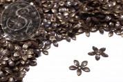 20 Stk. antik-bronzefarbene Blumen Perlenkappen 15mm-20