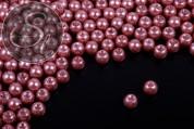 40 Stk. altrosa Wachs Glas Perlen 6mm-20